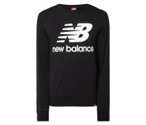Athletic Fit Sweatshirt mit Logo-Print