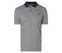 Shaped Fit Poloshirt aus Jersey Jacquard