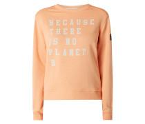 Sweatshirt aus Bio-Baumwolle und recyceltem Polyester Modell 'Because Washed'