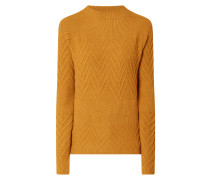 Pullover mit Zickzack-Muster
