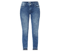 Moon Washed Slim Fit Jeans