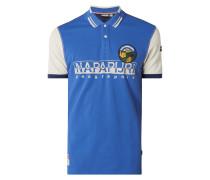 Poloshirt mit Logo-Details Modell 'Eishop'