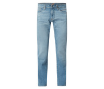 Straight Fit Jeans mit Stretch-Anteil Modell 'Houston'