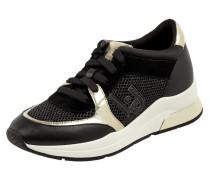 Sneaker Wedges aus Veloursleder Modell 'Karlie'
