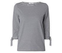Shirt mit Dreiviertelärmeln