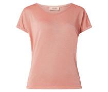 Shirt mit Effektgarn Modell 'Kay'