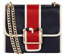 Crossbody Bag aus Leder mit Kettenriemen