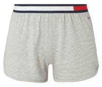 Pyjamashorts mit Logo-Bund