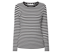 Longsleeve mit Allover-Muster