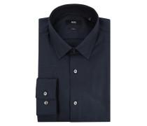 Slim Fit Business-Hemd aus Baumwolle