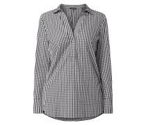 Blusenshirt aus Baumwolle mit Vichy-Karo