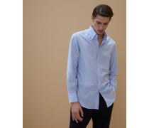 Hemd Basic Fit aus leichtem Oxford