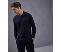 Leichter Pullover im Polo-Shirt-Stil