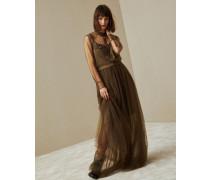 Kleid Sheer Folk aus federleichtem Tüll mit Monili