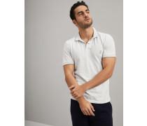 Polo Slim Fit aus Baumwollpikee mit Logo