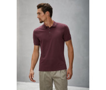 Polo-Shirt Slim Fit aus Baumwollpikee