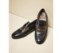 Loafer aus glattem Kalbsleder