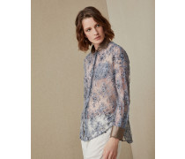 Bluse aus Spitze Dazzling Embroidery