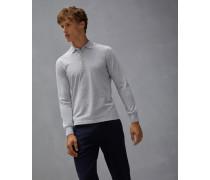 Polo-Shirt Slim Fit aus Baumwollpikee