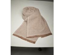 Schal in diagonaler Bindung aus Kaschmir und Wolle