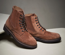 "Full-Brogue-Stiefelette ""Casual"""