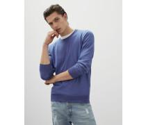 Leichter Pullover aus Kaschmir und Seide