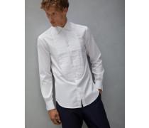 Hemd Basic-Fit für Smoking aus Baumwollköper Giza