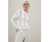 """Handgestrickter Pullover """"Dazzle & Cables"""""""