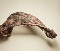Schal aus Kaschmir mit floralem Muster