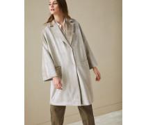 Mantel aus Scuba-Samt mit Monili