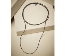 Armband aus schwarzem Spinell