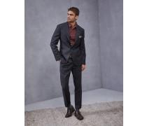 Anzug aus Schurwolle Super 110 in Glencheck-Karo