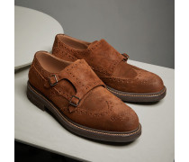 Fullbrogue-Monkstrap Casual