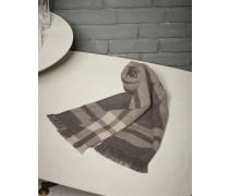 Schal in Karomuster aus Kaschmir
