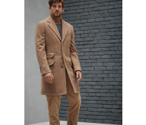 Mantel aus Fleece aus Wolle und Kaschmir