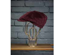 Mütze aus Baumwollsamt mit 500 Rippen