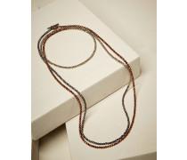Armband aus Hämatit-Pyrit in Kupfer und Braun