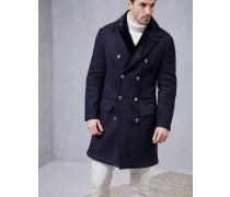 Zweireihig geknöpfter Mantel