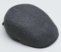 Gatsby-Mütze aus Wollflanell