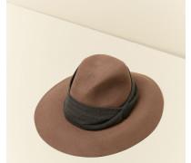 Fedora-Hut aus Kaschmir-Filz