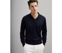 Leichter Pullover im Polo-Stil