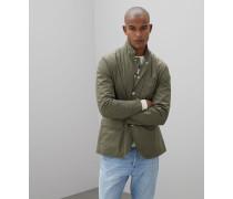 Jacke im Sakko-Stil aus mattem Nylon mit Membran