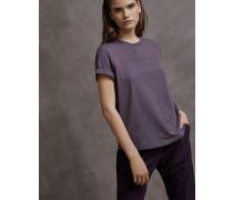 T-Shirt aus Stretch-Baumwolljersey mit Monili