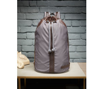 Tasche Gym aus Nylon und Büffelleder