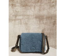 City-Bag aus Shearling Smooth
