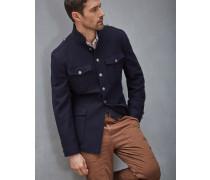 Outerwear-Military-Jacke in Köperbindung
