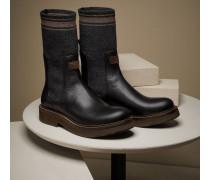 Chelsea Boots aus Kalbsleder