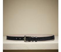 Gürtel Precious Gaucho aus Glasur-Leder