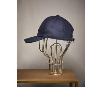 Baseball-Kappe aus Wollflanell