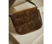 City-Bag Crystal Texture aus Kalbsleder